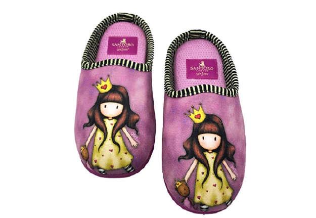 Immagine di Santoro pantofole aperte princesses tg 35/36