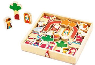 Immagine di Play Puzzle Natale