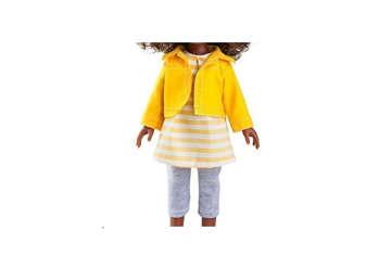 Immagine di Set vestito, giacca, pantalone e fiocco Bambola da 32cm