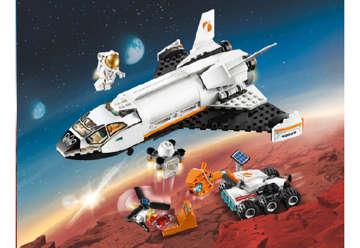 Immagine di Shuttle di ricerca su Marte