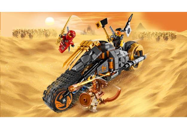 Immagine di La moto da cross di Cole