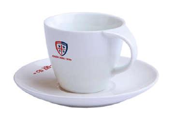 Immagine di Tazza da caffè + piattino Cagliari Calcio