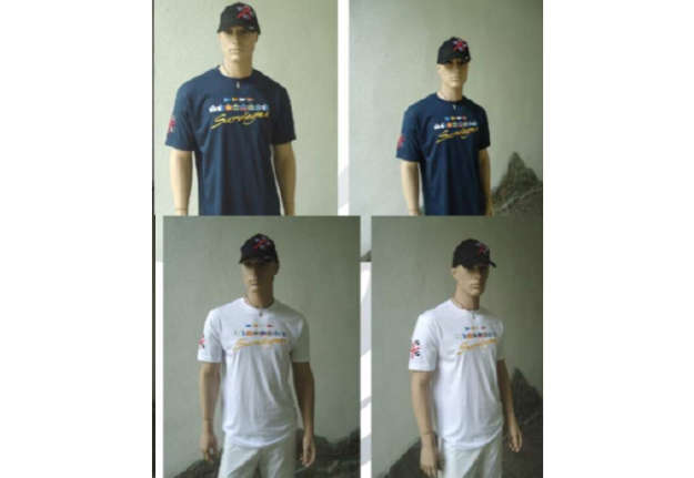 Immagine di T-shirt bianca bandierine nautiche 100% cotone tg XXL
