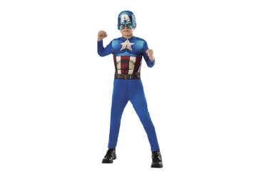 Immagine di Costume Capitan America 8-10 anni