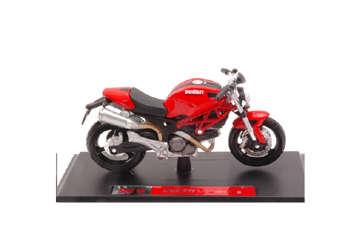 Immagine di Moto Ducati Monster 696 scala 1:12