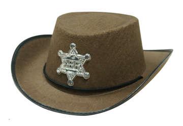 Immagine di Cappello da sceriffo bambino