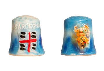 Immagine di Ditale ceramica Sardegna