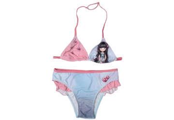 Immagine di Costume Santoro bikini triangolo 12 anni rosa e azzurro
