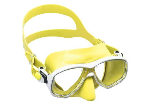 Immagine di Maschera Marea giallo adulto