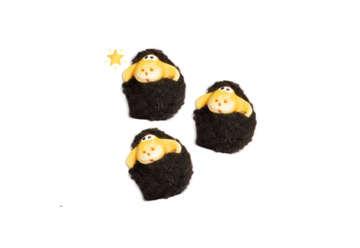 Immagine di Magnete pecora con pelo nero