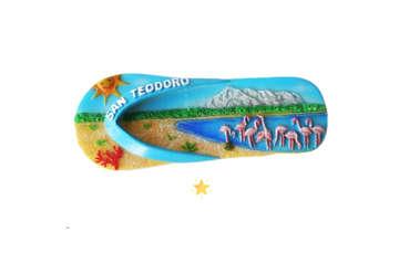Immagine di Magnete resina Ciabatta San Teodoro