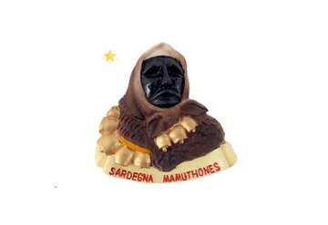Immagine di Magnete resina Mamuthones Sardegna