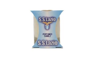 Immagine di Candela in vetro S.S Lazio da collezione