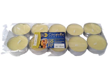 Immagine di 10 Tea Light citronella Diam. 3.6x1.7
