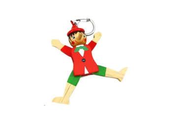 Immagine di Portachiavi Pinocchio in legno