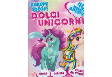 Immagine di Album Color Dolci Unicorni con attacca e stacca