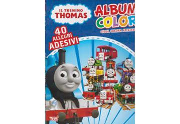Immagine di Album Color Il trenino Thomas con attacca e stacca