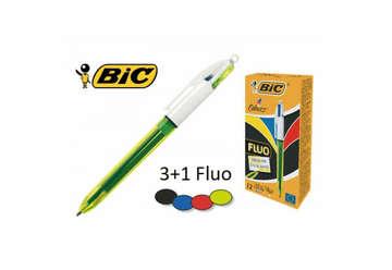 Immagine di Bic 4 Colori Fluo