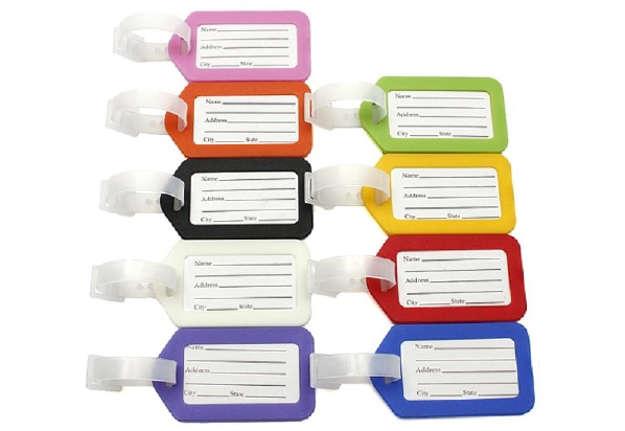 Immagine di Etichetta per bagaglio