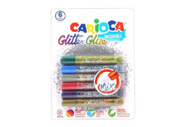 Immagine di Glitter Glue multicolor 6pz