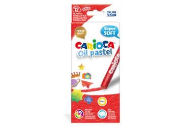 Immagine di Carioca pastelli a olio maxi 12 pz