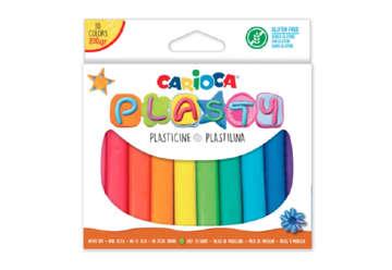 Immagine di Pasta modellabile 10 colori 200 gr