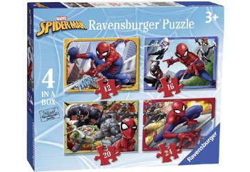 Immagine di Puzzle 4 in a box Spiderman