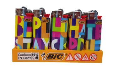 Immagine di Accendino Mini J25 Bic 'Color Mex'