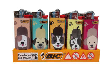 Immagine di Accendino Mini J25 Bic 'True Fiend Dog'