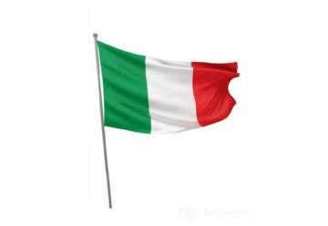 Immagine di Bandiera Italia 60x40 cm con asta