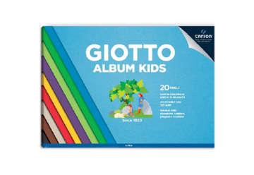 Immagine di Album kids A4 20 fogli colorati 120gr