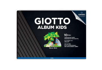 Immagine di Album nero kids A4 10 fogli 220gr