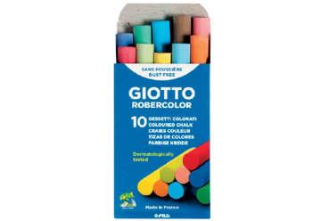 Immagine di Gessi Giotto Robercolor Colorati 10pz