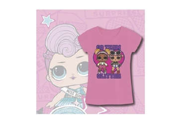 Immagine di LOL Surprise t-shirt Go Team Glitter TG.7 anni