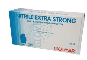 Immagine di Guanti in nitrile extra strong tg.XXL 100pz