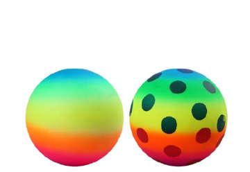 Immagine di Pallone multicolor rainbow 120gr