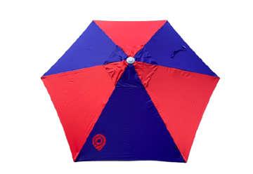 Immagine di Ombrellone Ilico rosso-blu 210cm