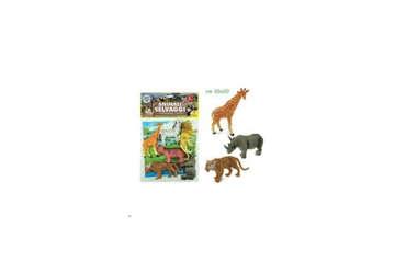 Immagine di Geo Nature - Animali della savana 6pz con mappa