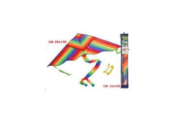Immagine di Aquilone arcobaleno con maniglia