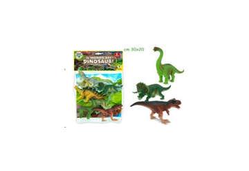 Immagine di Geo Nature - Dinosauri 6pz con mappa