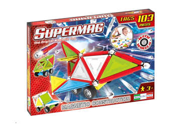 Immagine di Supermag - Tags Wheels 103pz