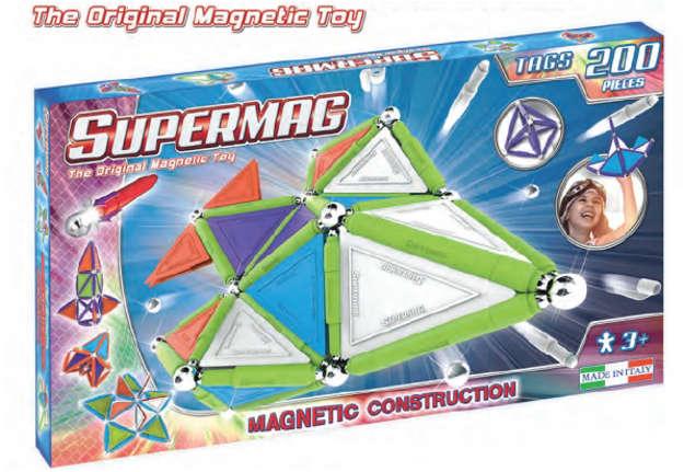 Immagine di Supermag - Tags Trendy 200pz