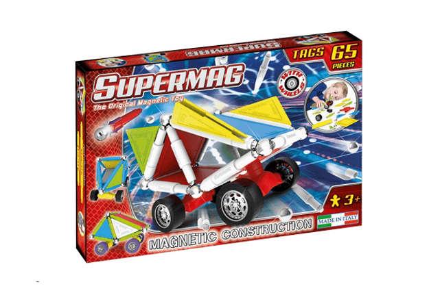 Immagine di Supermag - Tags Wheels 65pz