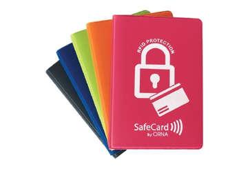 Immagine di Safecard color multiplo a libro