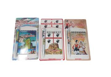 Immagine di Notes e penna Sardegna in blister assortito in 3 modelli