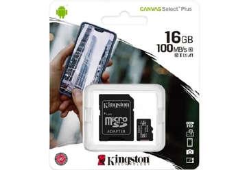 Immagine di Scheda Micro SD Canvas 16GB
