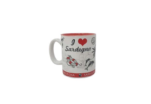 Immagine di Tazzina mug Sardegna 7x6cm