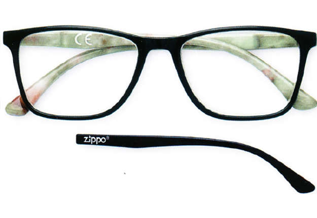 Immagine di Occhiale lettura Zippo +1.00 nero-verde