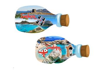 Immagine di Magnete bottiglia Sardegna