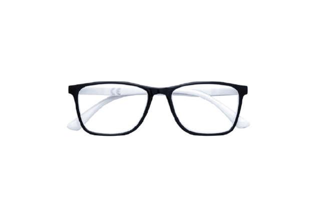 Immagine di Occhiale lettura Zippo +1.00 nero-bianco